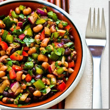 southwest-bean-salad-400x400-kalynskitchen